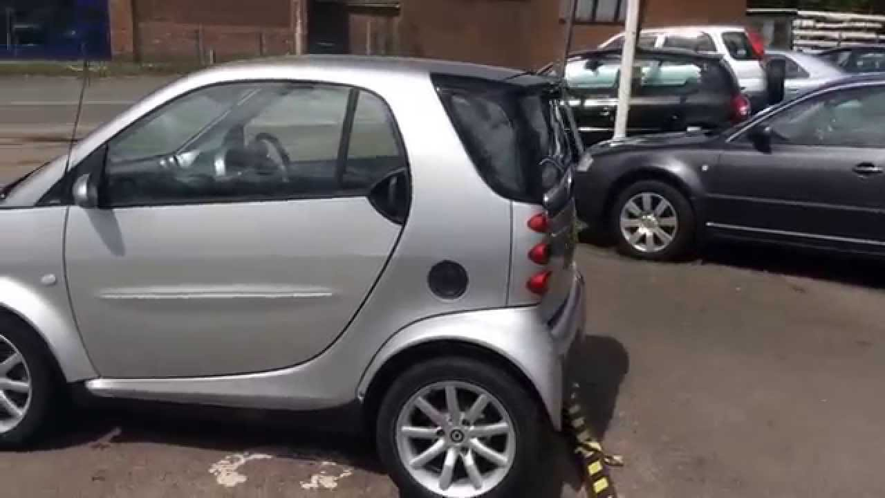 2006 smart fortwo city coupe passion 0 7 automatic at youtube. Black Bedroom Furniture Sets. Home Design Ideas