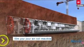 Visite à Lyon pour découvrir le tunnelier