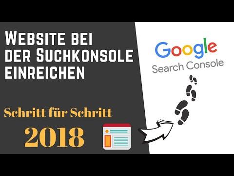 Website Bei Der Suchkonsole Einreichen – Schritt Für Schritt 2018