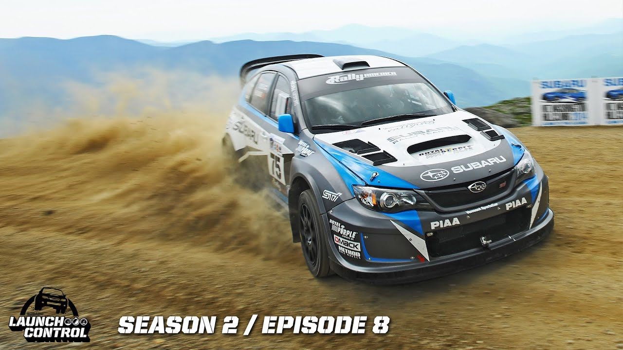 Wrx Sti Launch Control >> Launch Control: Pastrana and Higgins Climb to the Clouds on Mt. Washington -- Episode 2.8 - YouTube
