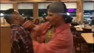 Man punched during IHOP fight says he has broken jaw, black eye