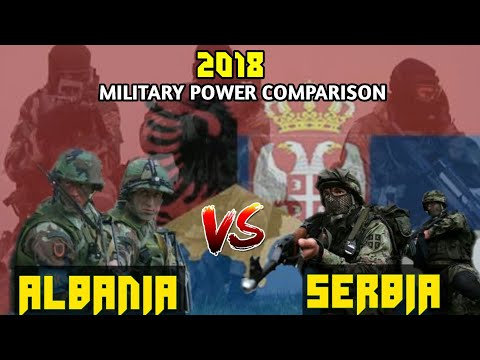ALBANIA vs SERBIA ~ Military Power Comparison