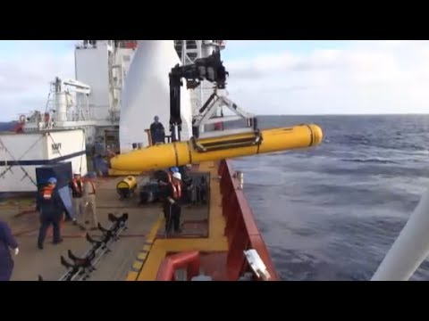 Underwater vehicle aborted MH370 search due to depth