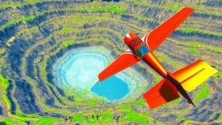 Airplane Crashes & Destruction  BeamNG.drive