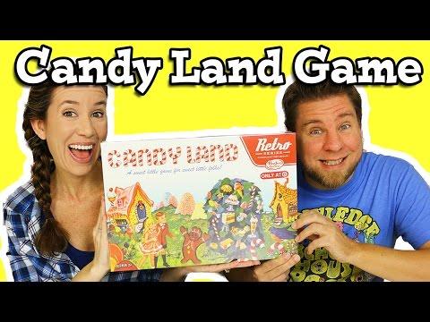 Candy Land Game - Retro Version
