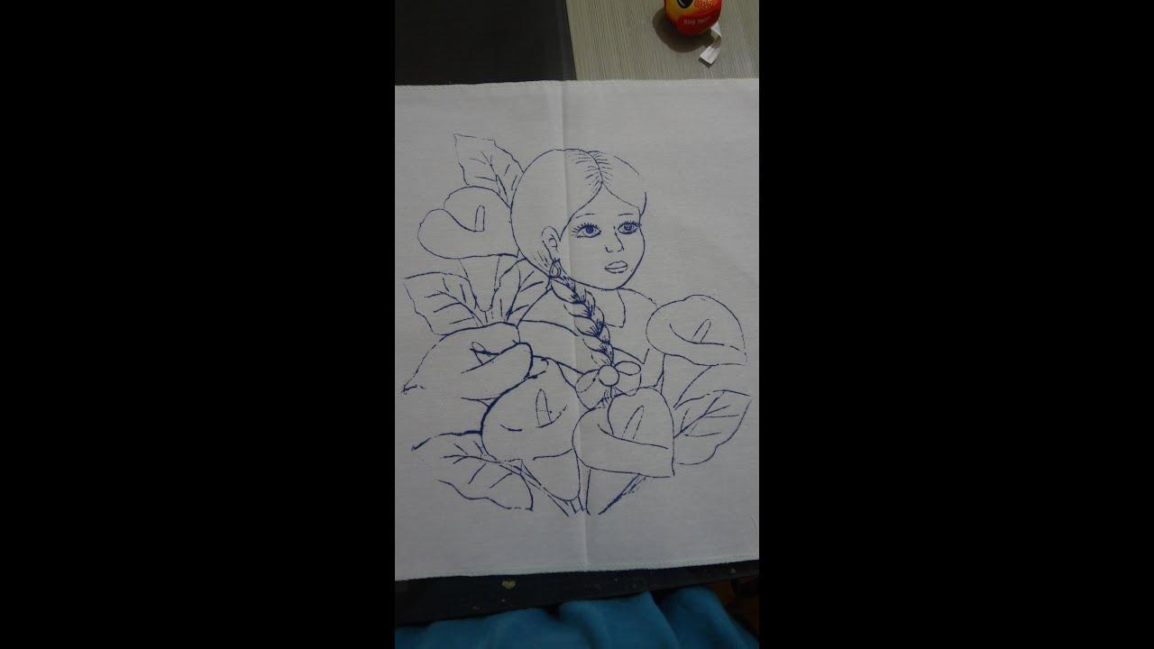 Pintura tela como pintar rostro redondo indigena marimur - Telas para sombra ...