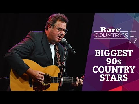 Biggest '90s Country Stars | Rare Country's 5