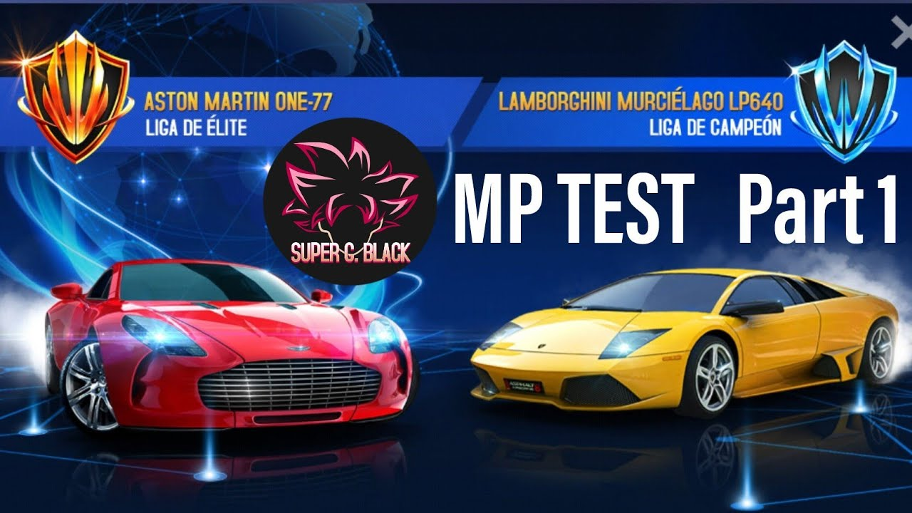 Asphalt 8 | Aston Martin One-77 Multiplayer TEST July 2020 | Super G Black