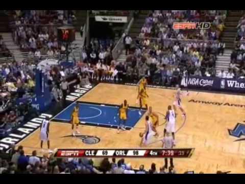 Marcin Gortat: Cleveland Cavaliers (03.04.2009) + 3 point shot