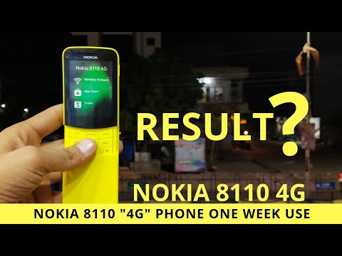"Nokia 8110 4G After One Week Use FAQ ""The Professional Phone"" REVIEW-RESULT? क्या आया रिजल्ट???"