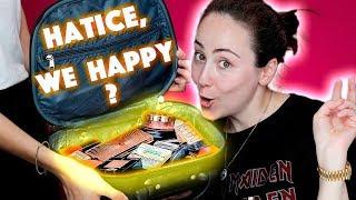 Schminktasche meiner Freundin 😷🤯 Ich schminke mich mit dem Makeup meiner Freundin | Hatice Schmidt