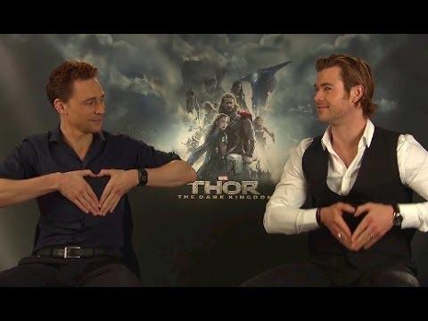 Chris Hemsworth & Tom Hiddleston Funny Moments