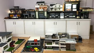 Miniature House Diorama Collection with Diecast Cars | Miniature Automobiles Video