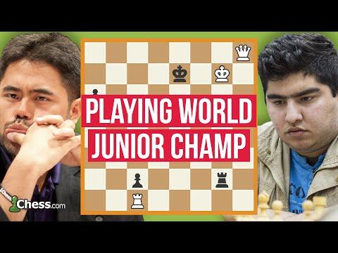 Nakamura's Knockouts: Epic Blitz Chess Session vs. World Junior Champion