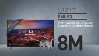 "All-New VIZIO E60-E3 SmartCast™ E-Series 60"" Class Ultra HD // Full Specs Review  #VIZIO"