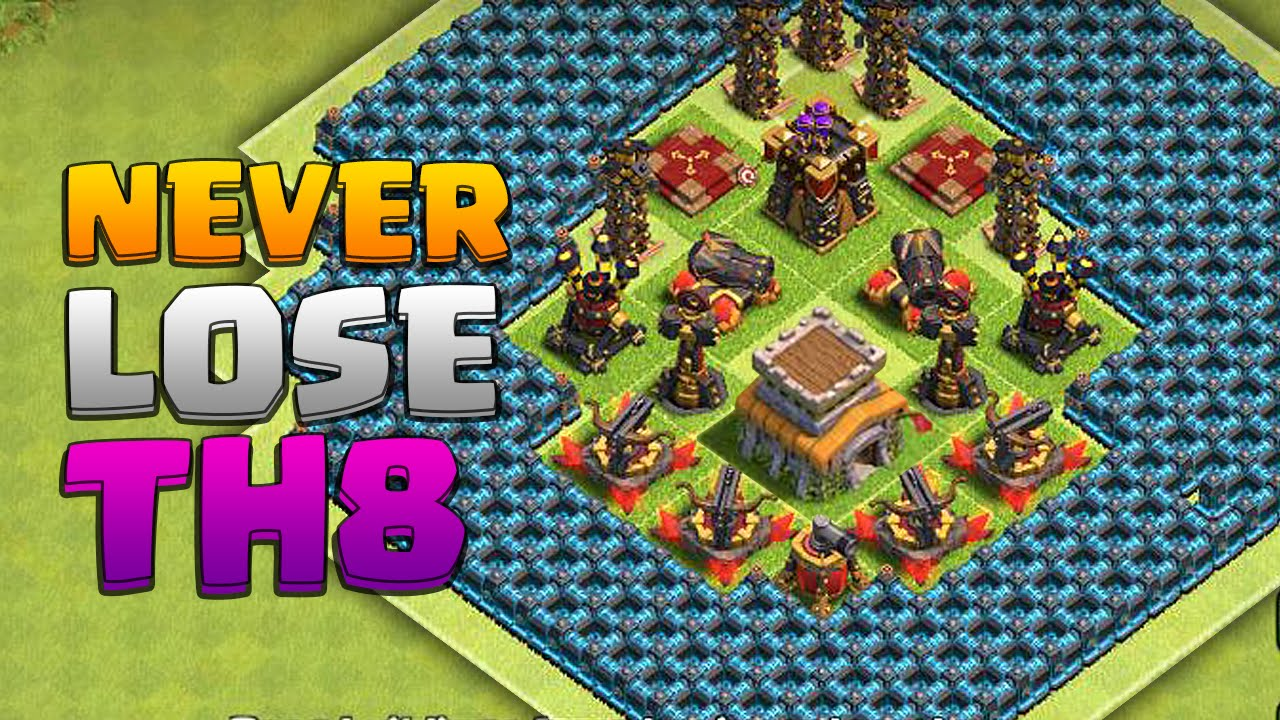 Best clash of clans town hall 8 farming newhairstylesformen2014 com
