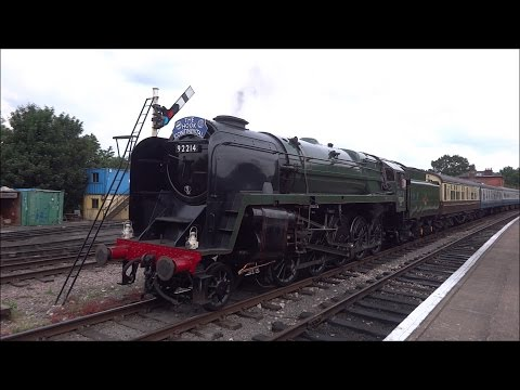 Epping Ongar Railway, Summer Steam Gala 2016, Saturday June 11th