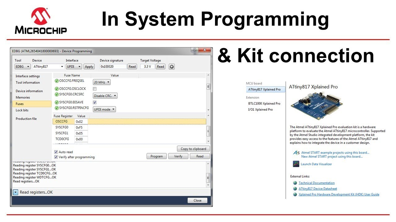 Getting Started with Atmel Studio 7 - Episode 9 - In System Programming
