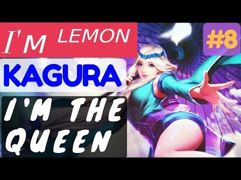 I'm The Queen [Rank 1 Kagura] | Kagura Gameplay and Build By I'м ᴸᴱᴹᴼᴺ #8 Mobile Legends