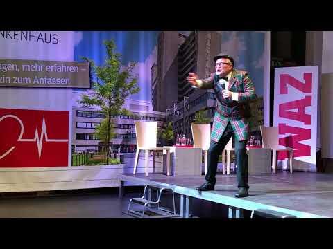 Auftritt von Oliver Tissot bei der WAZ Nachforumveranstaltung 2017