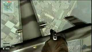 MW3 Predator Missile Glitch - Teleport Out of map glitches