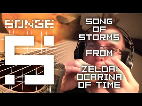 Zelda - Song of Storms cover 【Songe】