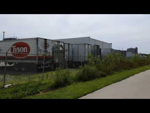 Tyson Fresh Meats trailers 2