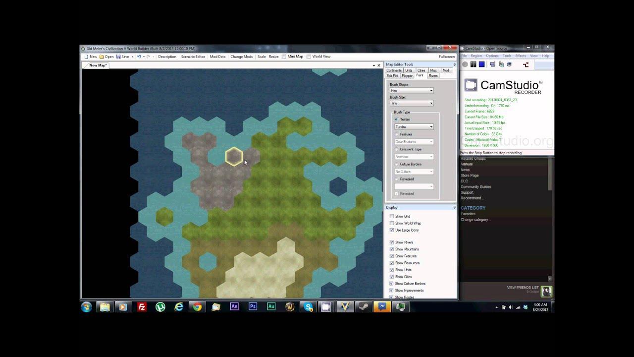 Civ 5 Map Editor CIV 5 Map Maker Real EP 1   YouTube Civ 5 Map Editor