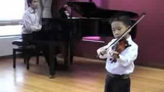Minuet 3 - Bach Violin Mini Concert