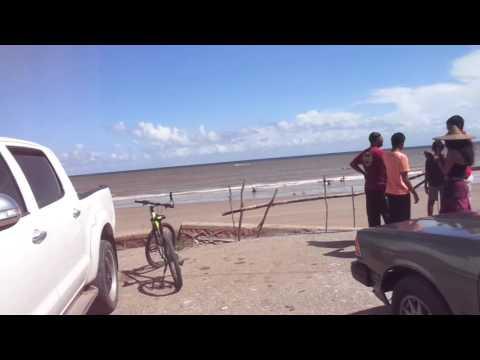 BEACHES IN TRINIDAD. Quinam beach - Los Iros Beach - drive to Point- Trinidad pitch lake