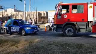 Accidente en Avenida La Voz del Interior