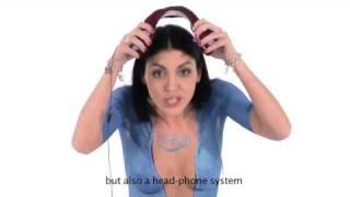 Veronica Ciardi video completo in bodypainting per campagna pubblicitaria hifun-hi-Ear