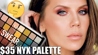 NYX LUXURY??? ... $35 EYESHADOW PALETTE