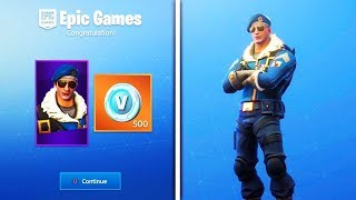 New FORTNITE'S CHEAPEST PACK TO GET THE SKIN BOMBER ROYALE +500 PAVOS IN Fortnite
