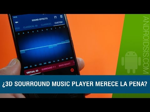 3D Sourround Music Player, ¿Merece la pena pagar casi 11 euros por una app?