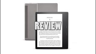 Amazon Kindle Oasis 3 Review