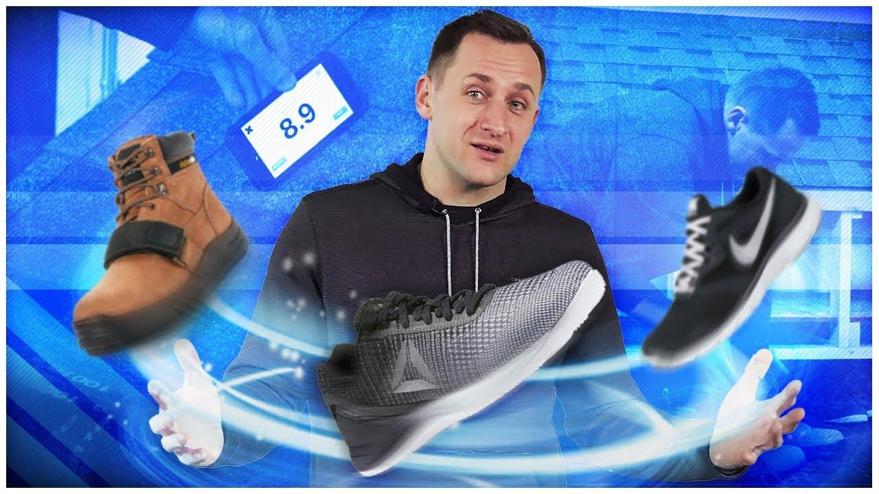 Roofing Shoes Cougar Paws Vs Reebok Crossfit Nano Doovi