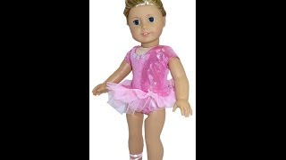 American Girl Doll Clothes Patterns Ballerina Tutu
