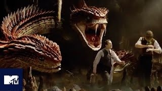 Fantastic Beasts EXCLUSIVE Deleted Scene Reveals New Creature, The Runespoor | MTV