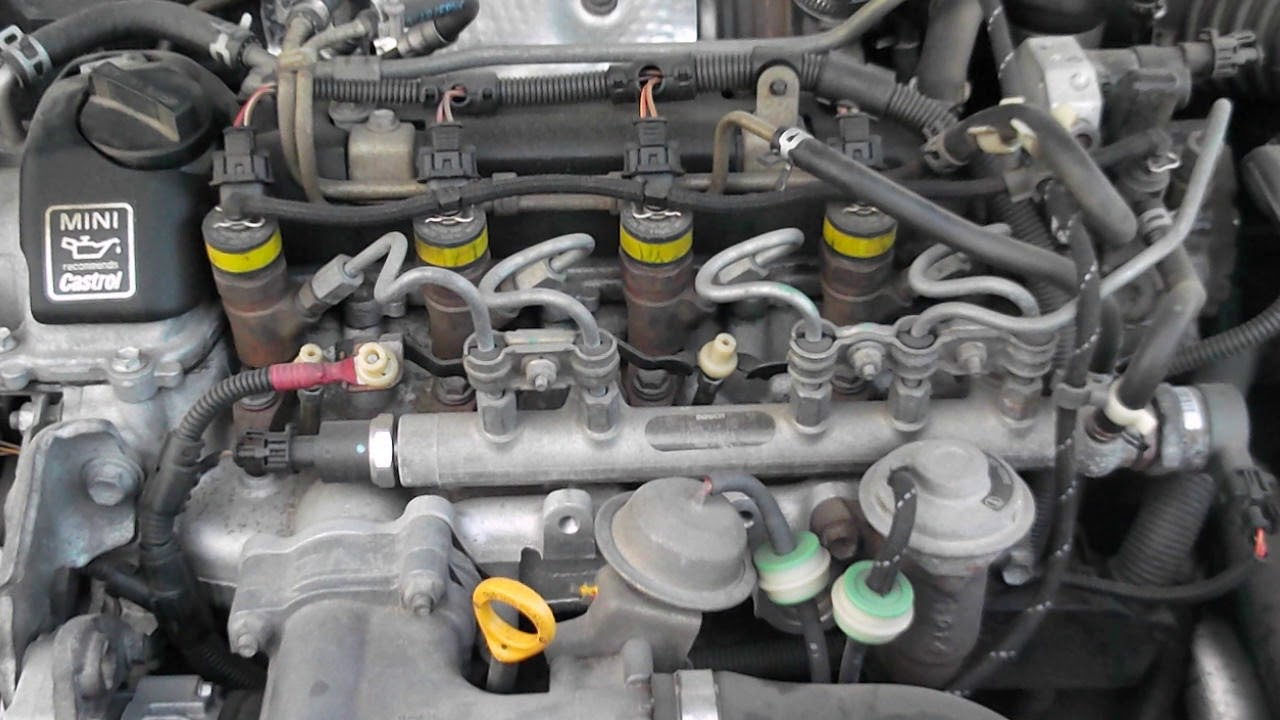 Mini One 2004 14 Diesel Engine Sound At 169000 Km 105000 Miles