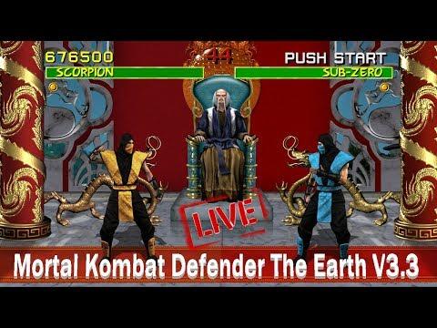 🔴 O MELHOR MORTAL KOMBAT (MUGEM) JA CRIADO | Defenders Of The Earth V3.3 MODO HARD 8+