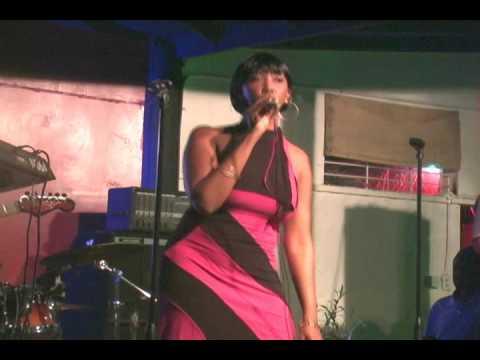 Live Band Karaoke @ Tanya Stephens' H2O Bar & Rest., Jamaica.wmv
