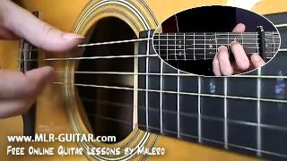 How to play  Hallelujah    MLR Guitar Lesson #1of 6