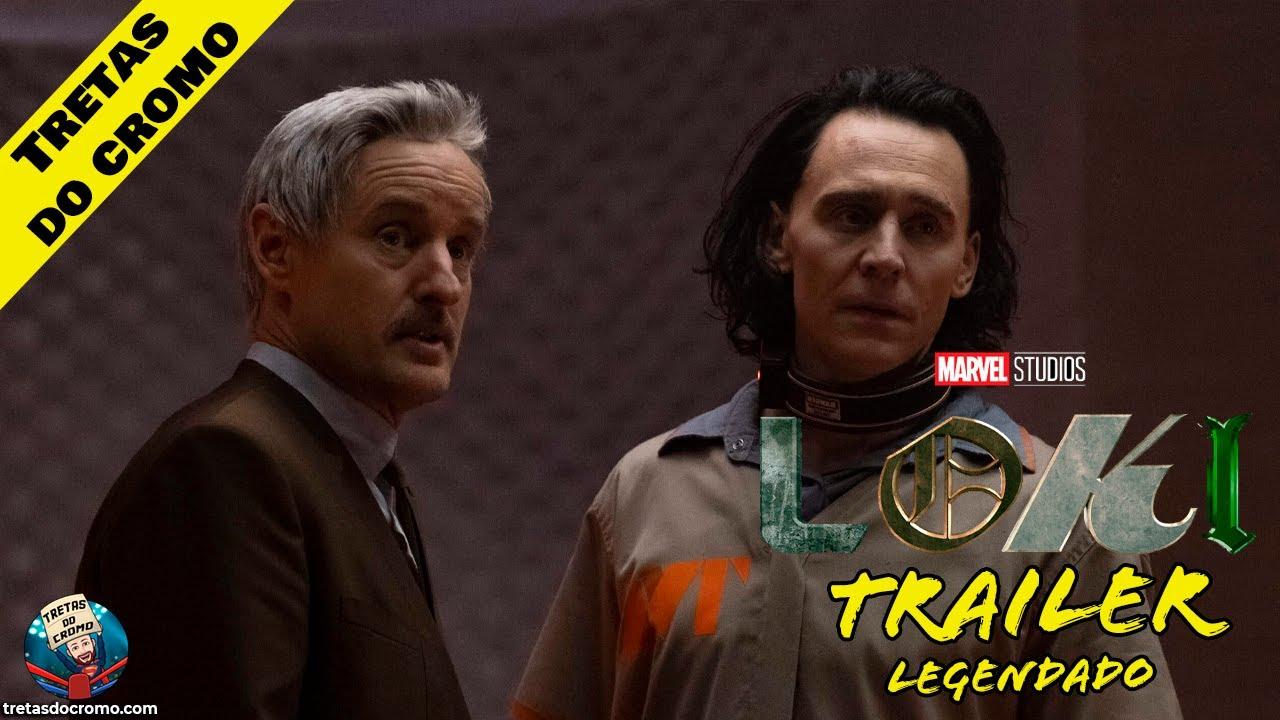 Loki recebe novo teaser trailer durante jogo de NBA
