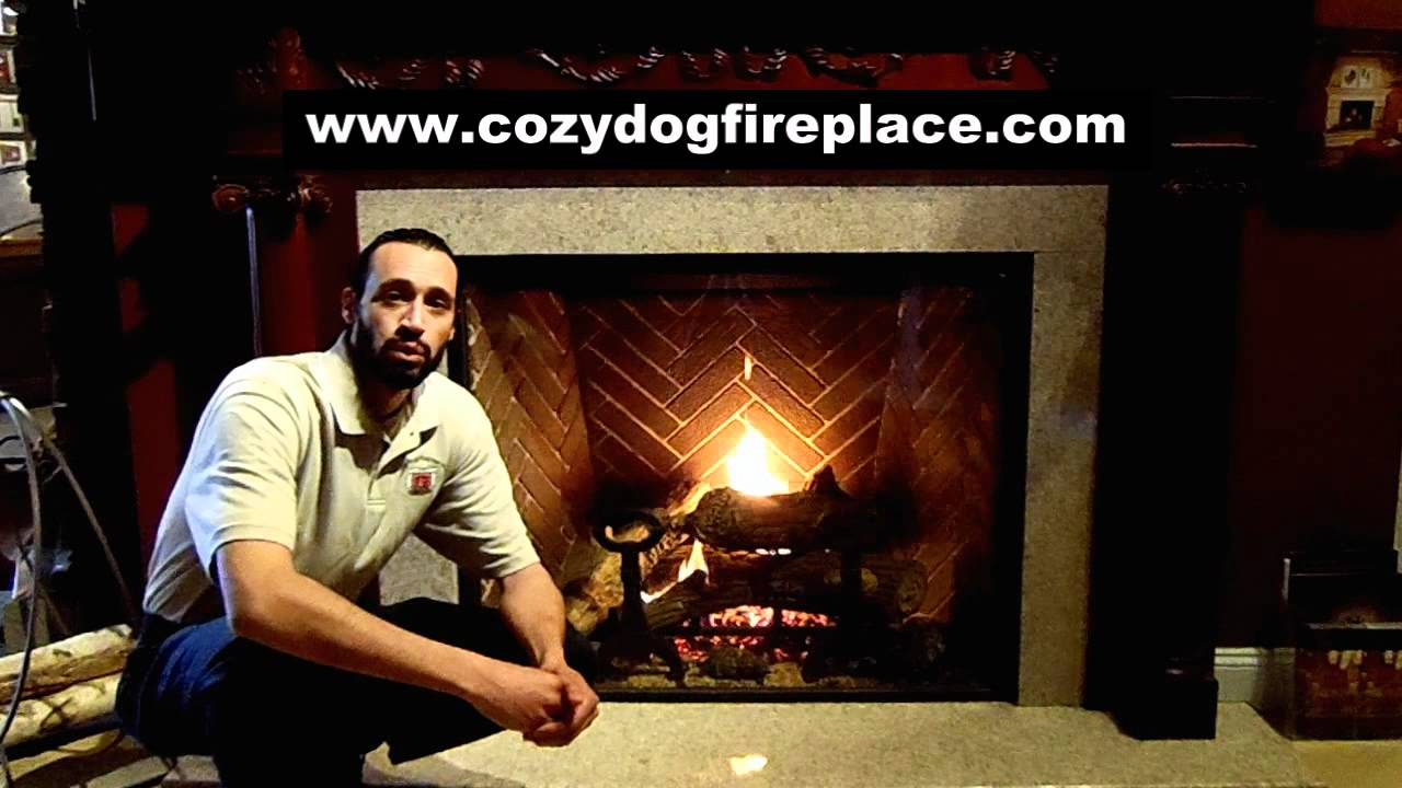 town and country tc42 gas fireplace youtube
