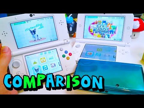 Comparison  NEW Nintendo 3DS vs 3DS & 3DS XL