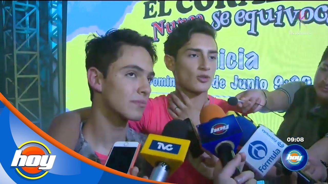 Emilio Osorio y Joaquín Bondoni celebran el estreno de la serie sobre Aristemo   Hoy