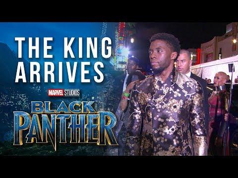 The King Arrives --  Chadwick Boseman at Marvel Studios