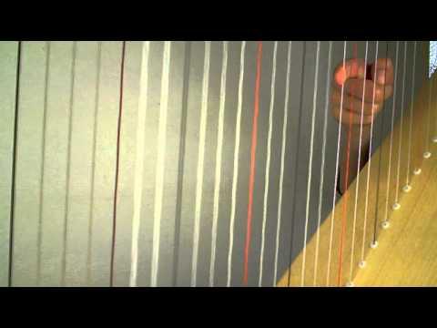harp leren spelen 9: glissando