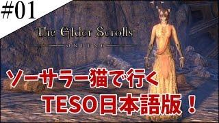 #1【TESO実況】ソーサラー猫のエルダースクロールズオンライン【日本語版】
